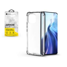 Xiaomi Mi 11 szilikon hátlap - Roar Armor Gel - transparent
