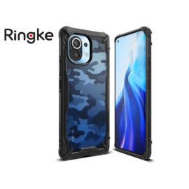 Xiaomi Mi 11 ütésálló hátlap - Ringke Fusion X - camo black