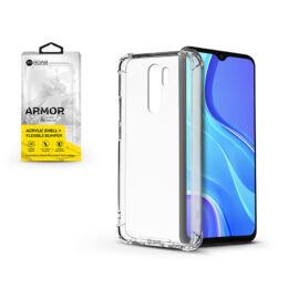 Xiaomi Redmi 9 szilikon hátlap - Roar Armor Gel - transparent