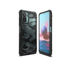 Xiaomi Redmi Note 10/Note 10S ütésálló hátlap - Ringke Fusion X - camo black