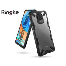 Xiaomi Redmi Note 9 Pro/Note 9 Pro Max/Note 9S ütésálló hátlap - Ringke Fusion X - black