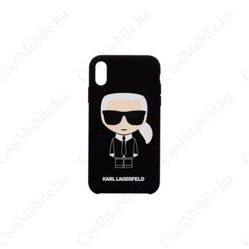 Karl Lagerfeld tok fekete (KLHCI8SLFKBK) Apple Iphone 7 / 8 / SE (2020) készülékhez