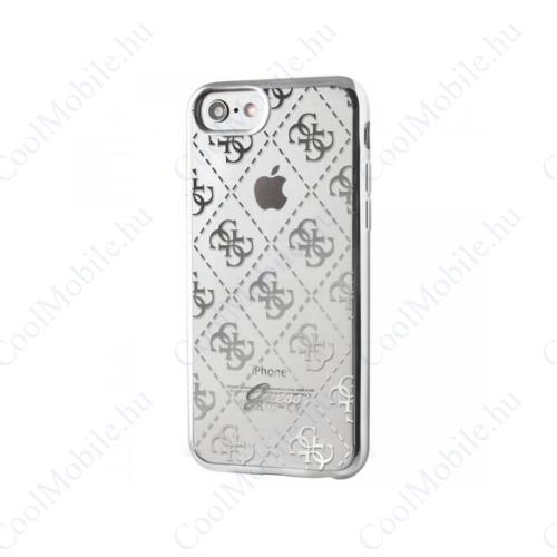 Guess tok Ezüst (GUHCPSETR4GSI) Apple iPhone 5 / 5S / SE (2016) készülékhez