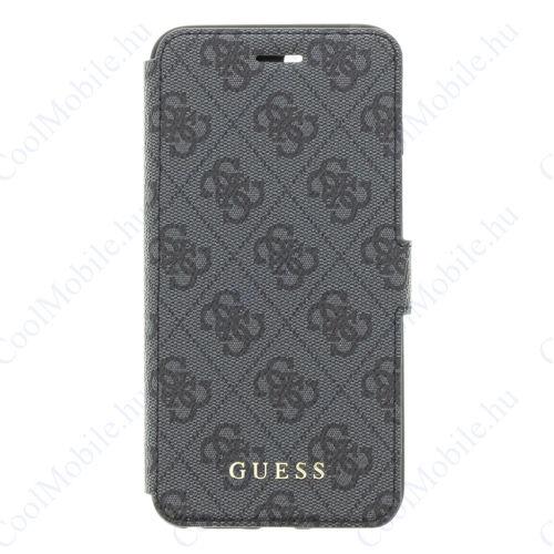 Guess Flip tok Szürke (GUFLBKI8L4GG) Apple iPhone 7 Plus / 8 Plus készülékhez