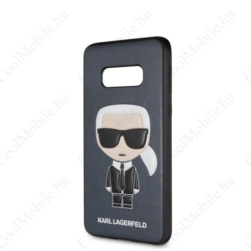 Karl Lagerfeld tok kék (KLHCS10LIKPUBL) Samsung S10e készülékhez