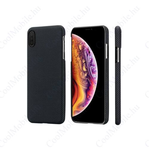 Pitaka tok Black / Gray Plain (KI9002XM) Iphone Xs Max készülékhez