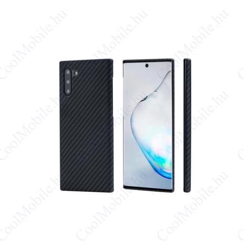 Pitaka tok Black / Gray Twill (KN1001) Samsung Note 10 készülékhez