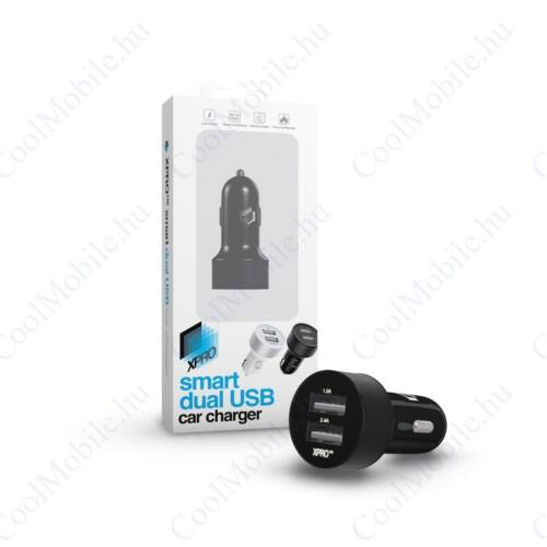 Xprotector Smart Dual USB Car Charger Black
