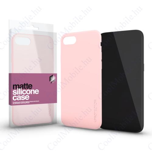 Xprotector Szilikon matte tok ultra vékony Púder pink Samsung Note 9 készülékhez