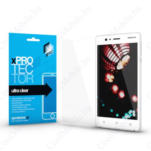 Xprotector Ultra Clear kijelzővédő fólia Nokia 3 készülékhez