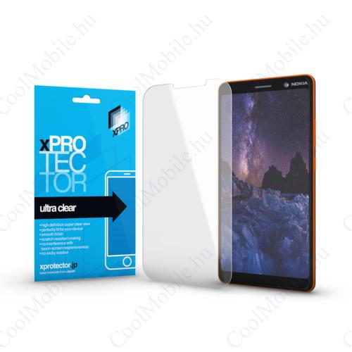 Xprotector Ultra Clear kijelzővédő fólia Nokia 7 Plus készülékhez