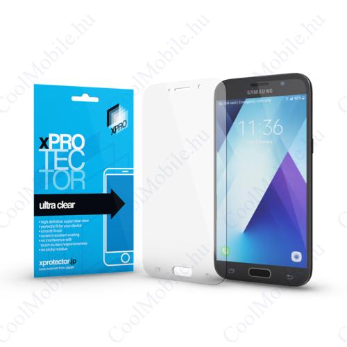 Xprotector Ultra Clear kijelzővédő fólia Samsung A5 2017 készülékhez