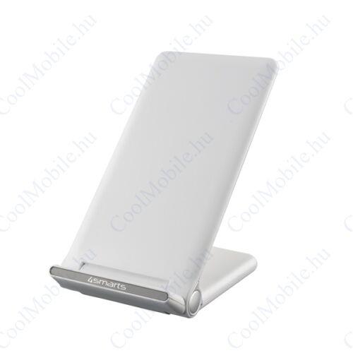4smarts VoltBeam vezeték nélküli gyorstöltő 15W, fehér