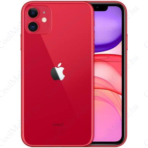Apple Iphone 11 64GB piros