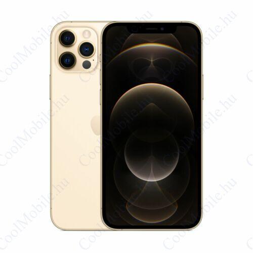 Apple Iphone 12 Pro Max 128GB arany, kártyafüggetlen, Gyártói garancia