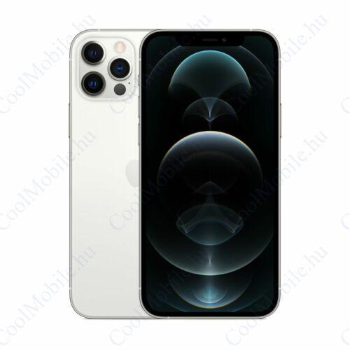 Apple Iphone 12 Pro Max 256GB ezüst, kártyafüggetlen, Gyártói garancia