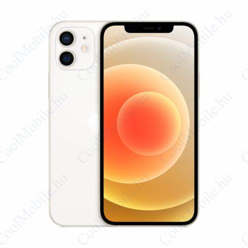 Apple Iphone 12 256GB fehér, kártyafüggetlen, Gyártói garancia