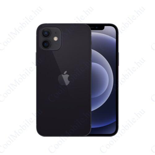 Apple Iphone 12 mini 64GB fekete, kártyafüggetlen, Gyártói garancia