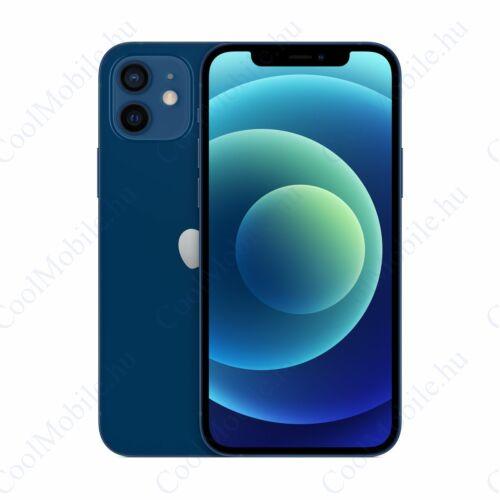 Apple Iphone 12 128GB kék, kártyafüggetlen, Gyártói garancia