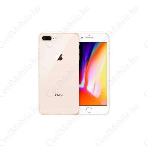 Apple iPhone 8 Plus 128GB arany, Kártyafüggetlen, 1 év Gyártói garancia