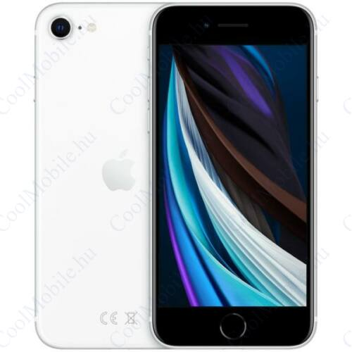 Apple Iphone SE 2020 256GB fehér, kártyafüggetlen, Gyártói garancia