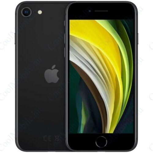 Apple Iphone SE 2020 128GB fekete, kártyafüggetlen, Gyártói garancia