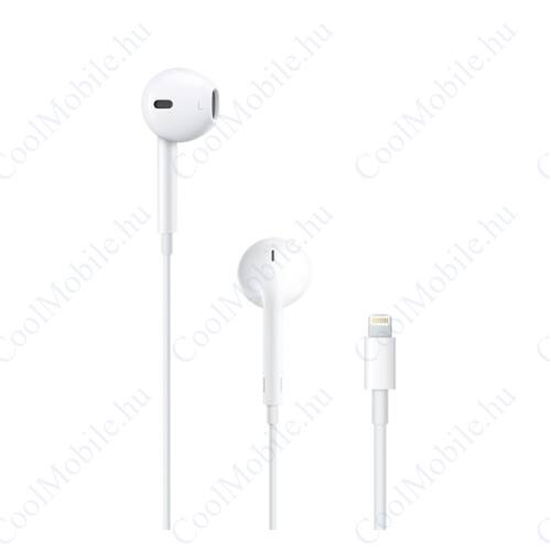Apple EarPods Lightning csatlakozóval MMTN2 headset