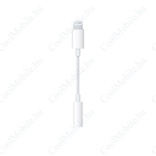 Apple Lightning-adapter 3,5 mm-es fejhallgató jack csatlakozóhoz, MMX62ZM/A