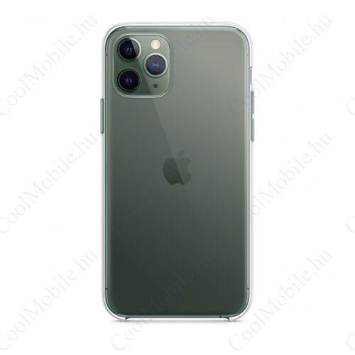 Apple iPhone 11 Pro gyári szilikon tok, átlátszó, MWYK2ZM/A