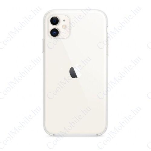 Apple iPhone 11 gyári szilikon tok, átlátszó, MWVG2ZM/A