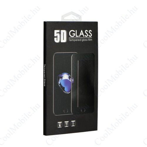 Apple iPhone 7 Plus/8 Plus, 5D Full Glue hajlított tempered glass kijelzővédő üvegfólia, átlátszó