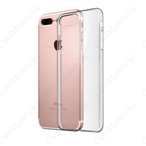 Apple iPhone 8 Plus/7 Plus Ultra Slim 0,3mm szilikon tok, átlátszó