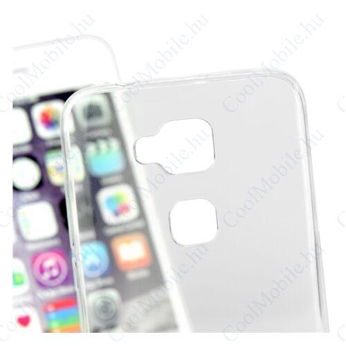 Apple iPhone X Ultra Slim 0,3mm szilikon tok, átlátszó