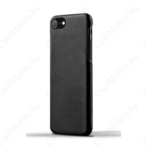 Apple iPhone Xs Max, Műbőr hátlap tok, Fekete