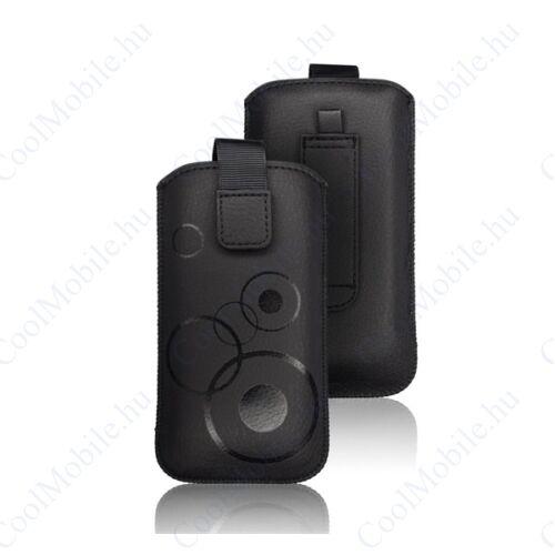 Forcell Deko univerzális tok, S (Apple iPhone 4), fekete