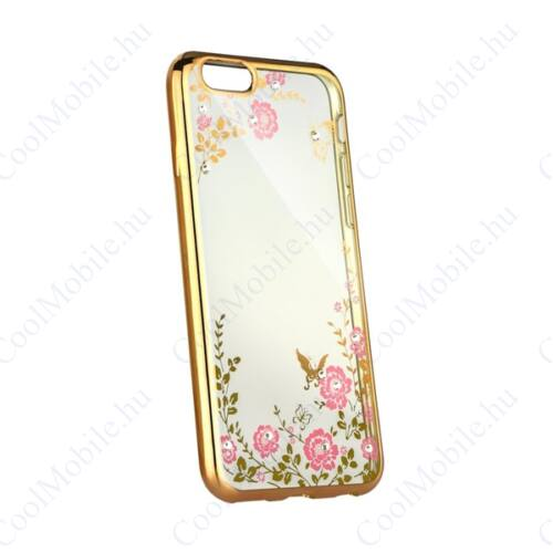 Forcell Diamond hátlap tok Apple iPhone Xs Max, arany