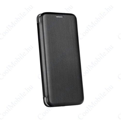 Forcell Elegance oldalra nyíló hátlap tok Apple iPhone Xs Max, fekete