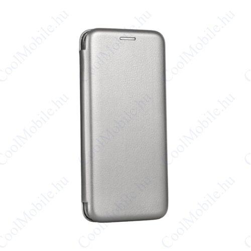 Forcell Elegance oldalra nyíló hátlap tok Samsung A600 Galaxy A6, szürke