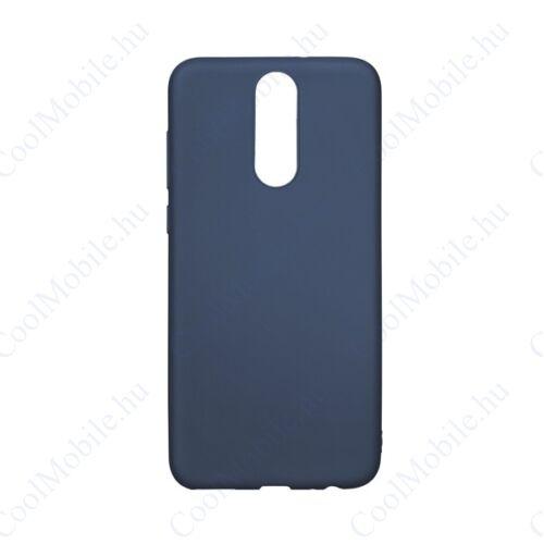 Forcell Soft szilikon hátlap tok Apple iPhone Xs Max, sötét-kék
