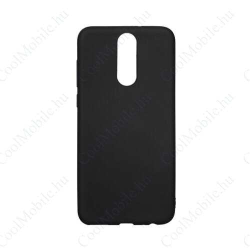Forcell Soft szilikon hátlap tok Huawei P smart (2019), fekete