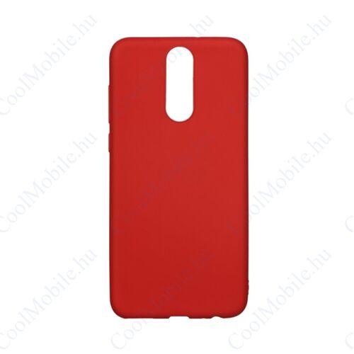 Forcell Soft szilikon hátlap tok Samsung G970 Galaxy S10e, piros