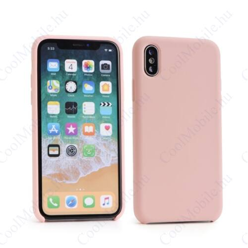 Forcell Szilikon hátlap tok Samsung J415 Galaxy J4+, rózsaszín