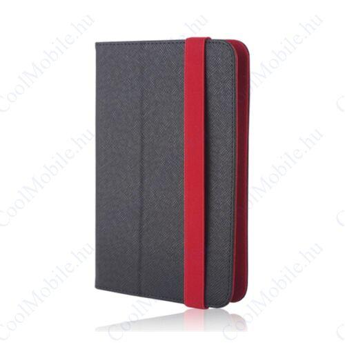 GreenGo univerzális tablet tok 7-8 colos, fekete-piros