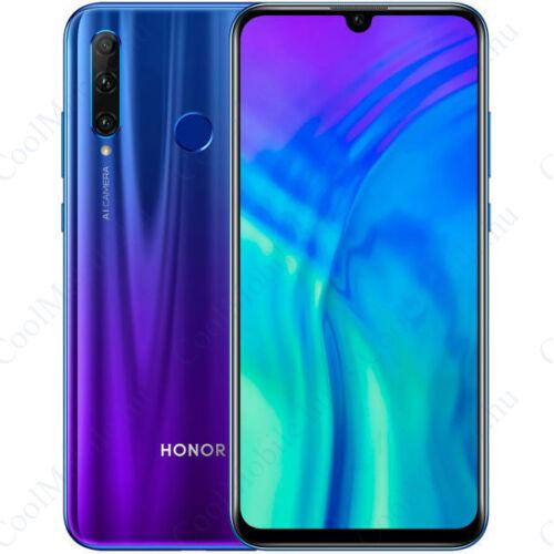 Honor 20 Lite 128GB Dual SIM kék okostelefon