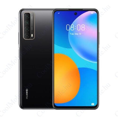 Huawei P Smart 2021 128GB 4GB Dual fekete, Gyártói garancia