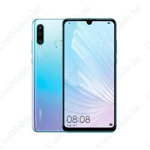 Huawei P30 Lite (2020) 256GB 6GB Dual, Jégkristálykék, gyártói garancia