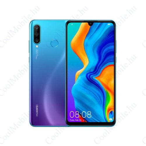 Huawei P30 Lite (2020) 256GB 6GB Dual, pávakék, gyártói garancia