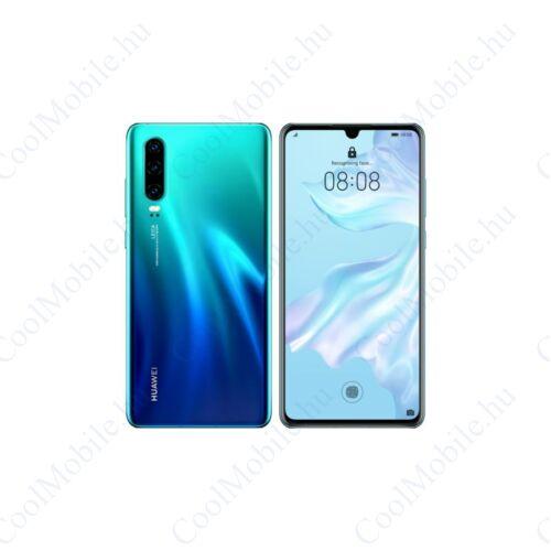 Huawei P30 128GB Dual SIM, auróra kék