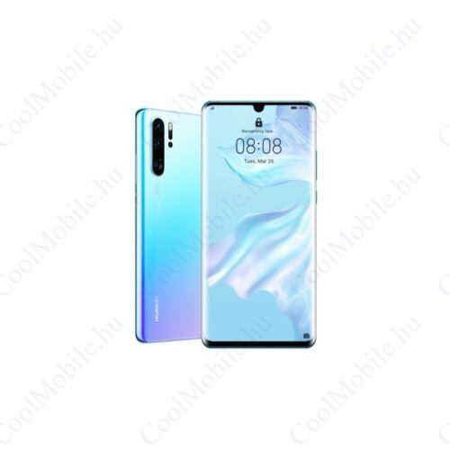 Huawei P30 Pro 128GB Dual SIM, jégkristály kék, Kártyafüggetlen, Gyártói garancia