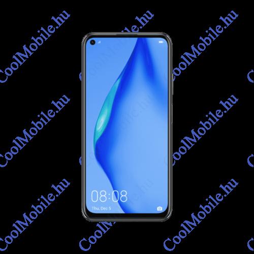 Huawei P40 Lite 128GB 6GB Dual SIM, Éjfekete, kártyafüggetlen 2 év gyártói garancia